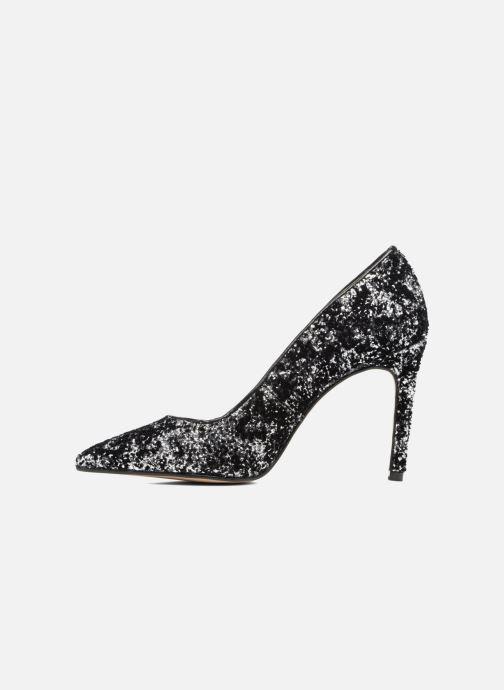 Zapatos de tacón Georgia Rose Shiny Plateado vista de frente