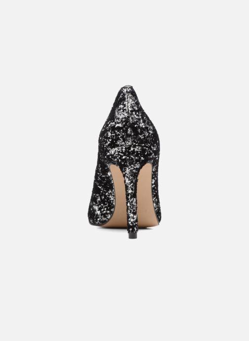 Zapatos de tacón Georgia Rose Shiny Plateado vista lateral derecha