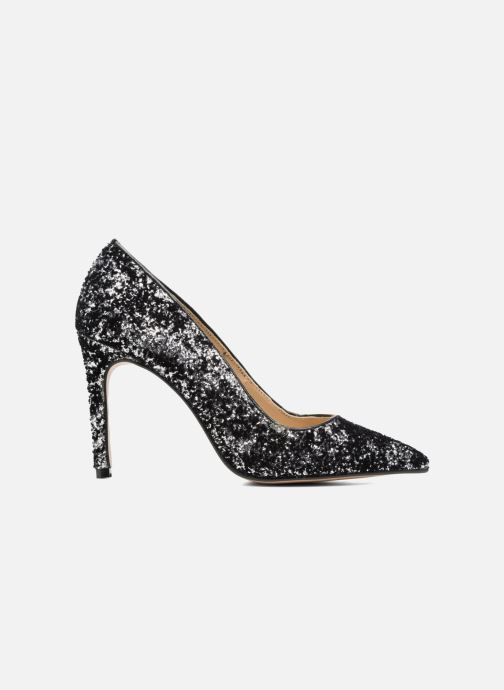 Zapatos de tacón Georgia Rose Shiny Plateado vistra trasera
