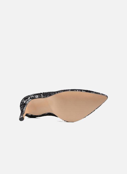 Zapatos de tacón Georgia Rose Shiny Plateado vista de arriba