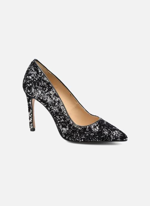 Zapatos de tacón Georgia Rose Shiny Plateado vista de detalle / par