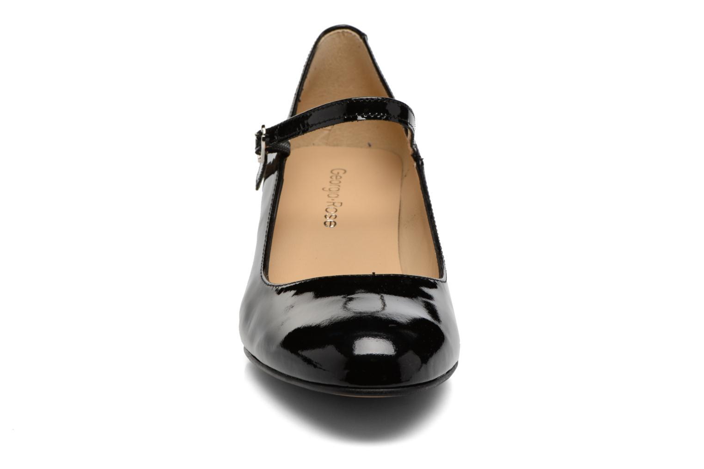 Escarpins Georgia Rose Satina Noir vue portées chaussures