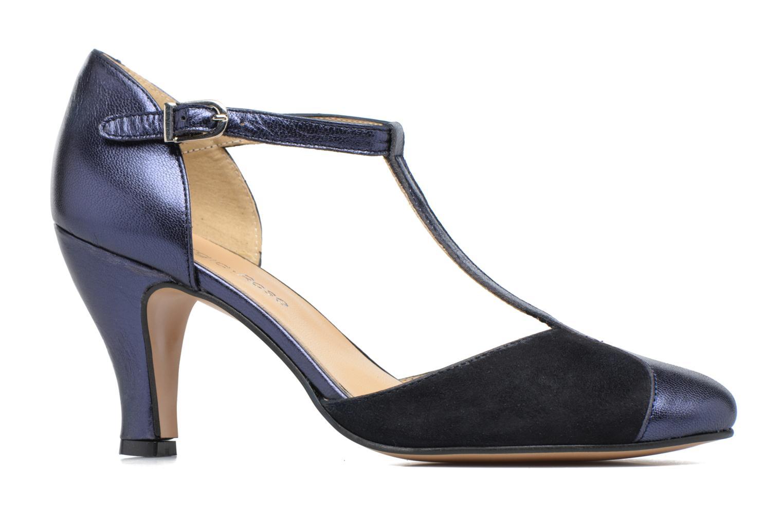 High heels Georgia Rose Sandy Blue back view