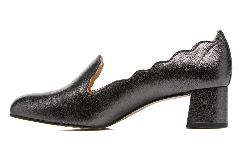 High heels Georgia Rose Socroca Grey front view