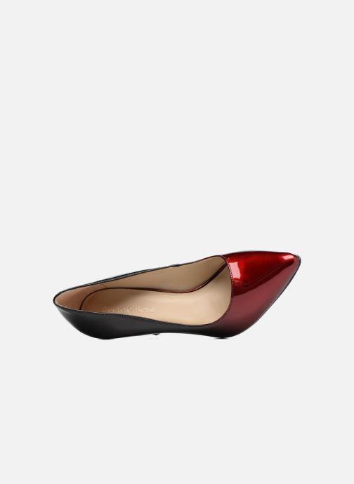 Zapatos de tacón Georgia Rose Glady Vino vista lateral izquierda