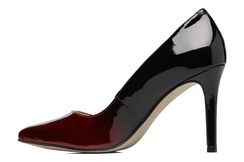 High heels Georgia Rose Glady Burgundy front view