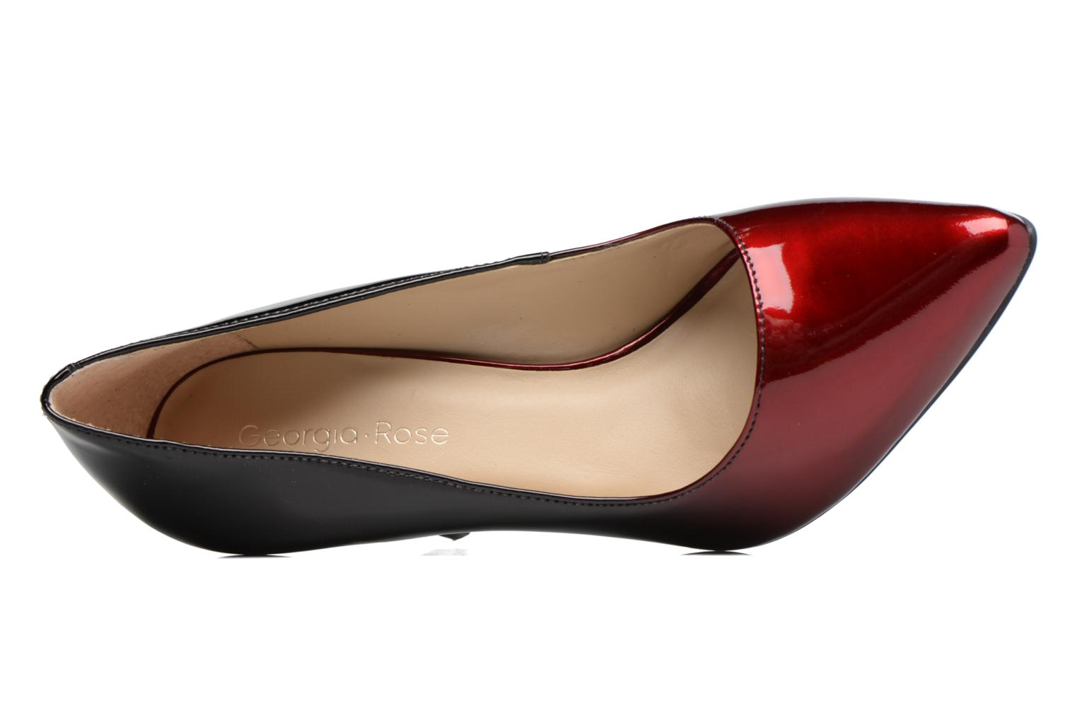 High heels Georgia Rose Glady Burgundy view from the left