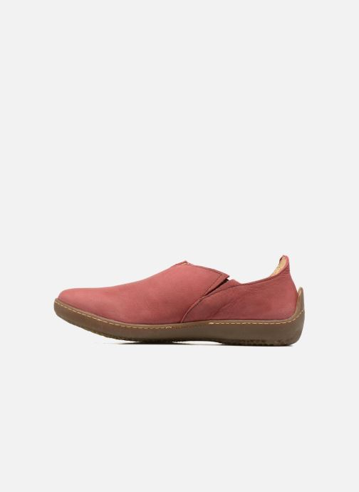 Loafers El Naturalista Bee ND80 Burgundy front view