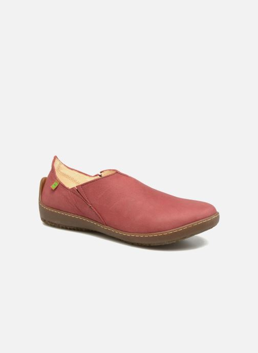 Loafers El Naturalista Bee ND80 Burgundy detailed view/ Pair view