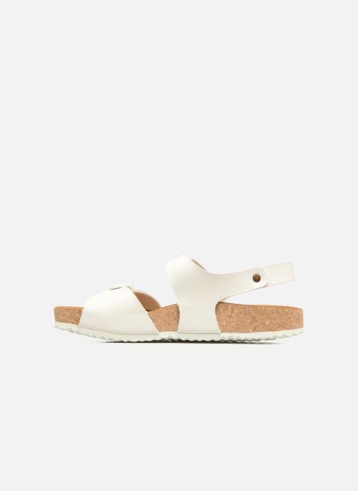 Sandali e scarpe aperte El Naturalista Waraji NE57 Bianco immagine frontale