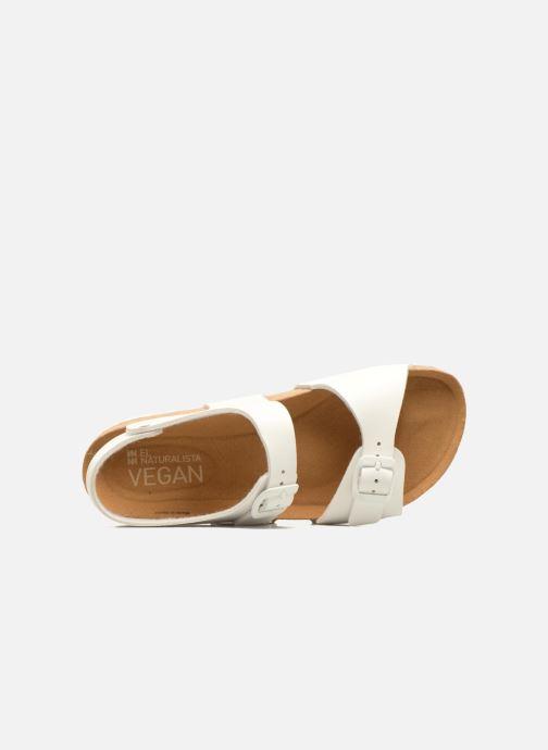Sandali e scarpe aperte El Naturalista Waraji NE57 Bianco immagine sinistra