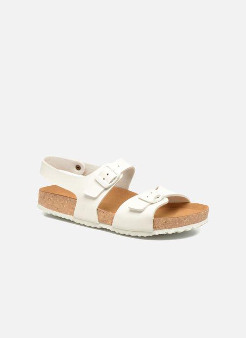 Sandales et nu-pieds El Naturalista Waraji NE57 Blanc vue détail/paire