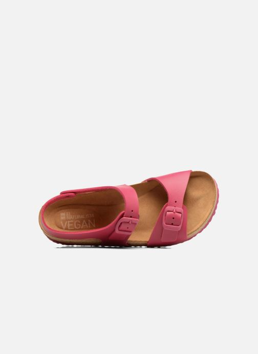 Sandali e scarpe aperte El Naturalista Waraji NE57 Rosa immagine sinistra