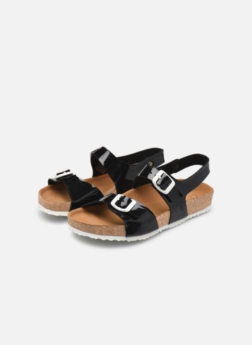 Sandales et nu-pieds El Naturalista Waraji NE67 Noir vue bas / vue portée sac