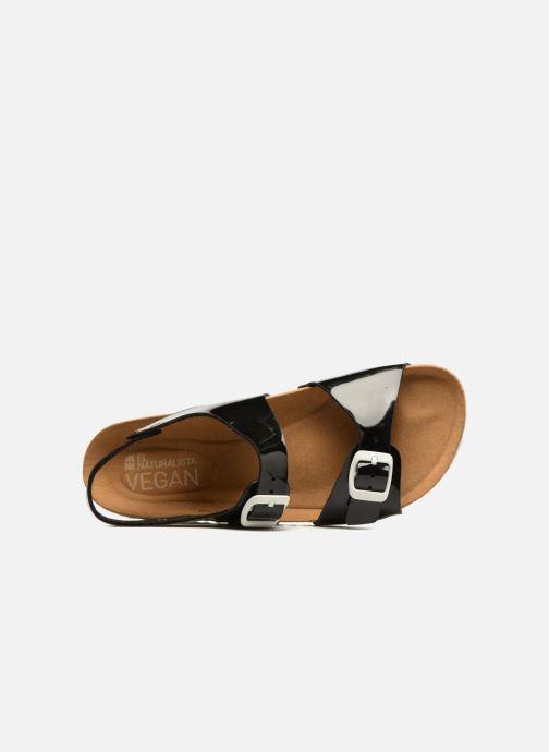 Sandales et nu-pieds El Naturalista Waraji NE67 Noir vue gauche