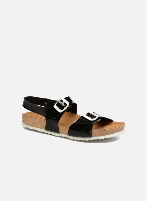 Sandales et nu-pieds El Naturalista Waraji NE67 Noir vue détail/paire