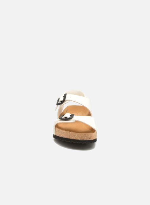 Sandales et nu-pieds El Naturalista Waraji NE67 Blanc vue portées chaussures
