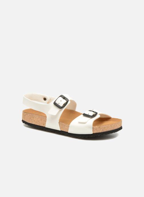 Sandales et nu-pieds El Naturalista Waraji NE67 Blanc vue détail/paire
