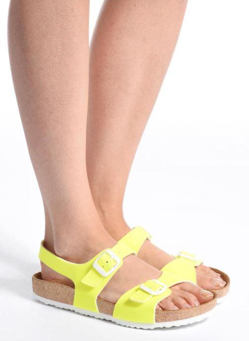 Sandales et nu-pieds El Naturalista Waraji NE67 Rose vue bas / vue portée sac