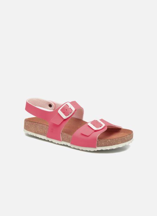 Sandales et nu-pieds El Naturalista Waraji NE67 Rose vue détail/paire
