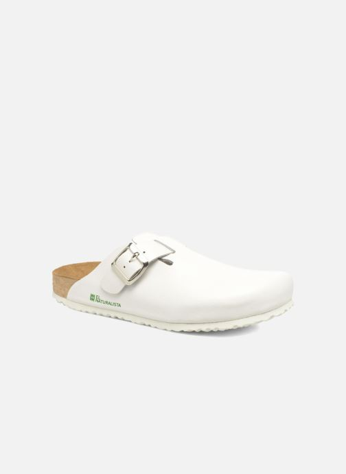 Mules & clogs El Naturalista Waraji NE32 White detailed view/ Pair view