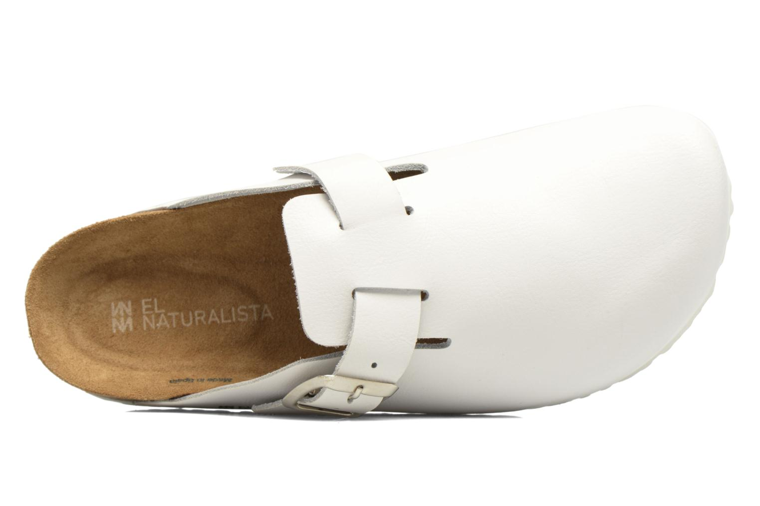 Mules & clogs El Naturalista Waraji NE32 White view from the left