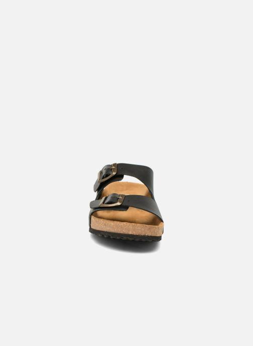 Sandales et nu-pieds El Naturalista Waraji NE30 Noir vue portées chaussures