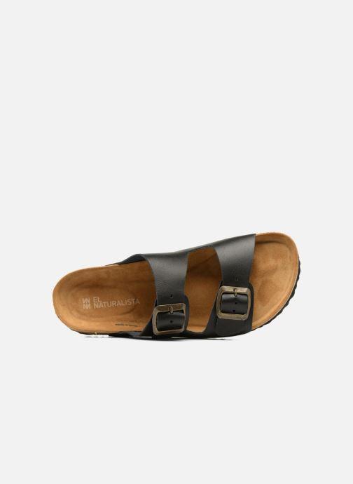 Sandales et nu-pieds El Naturalista Waraji NE30 Noir vue gauche