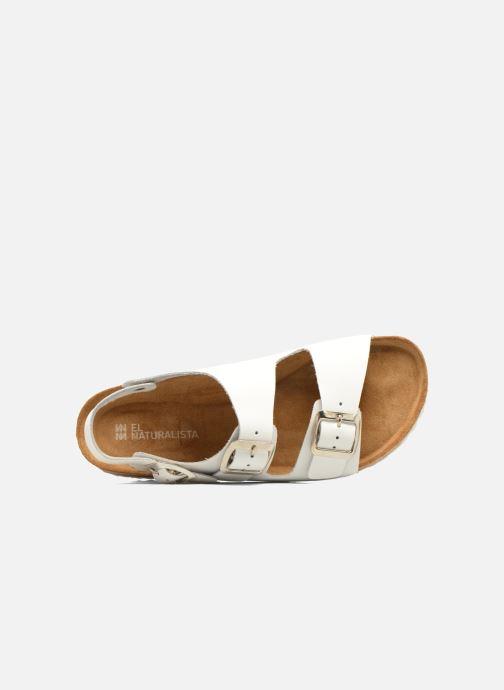 Sandali e scarpe aperte El Naturalista Waraji NE31 W Bianco immagine sinistra