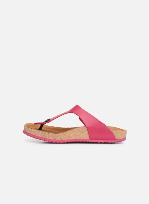 Sandali e scarpe aperte El Naturalista Waraji NE59 Rosa immagine frontale