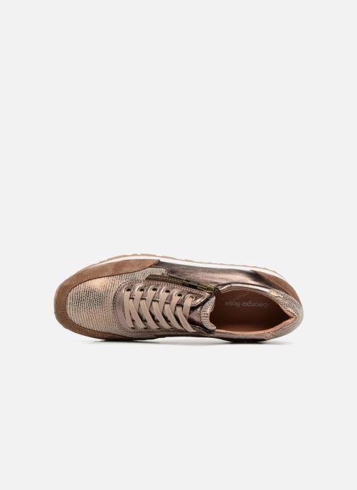 Sneakers Georgia Rose Cezip Goud en brons links