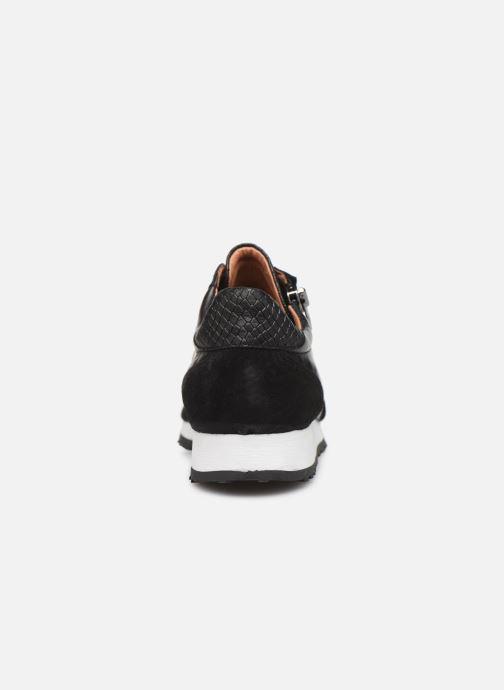 Sneakers Georgia Rose Cezip Zwart rechts