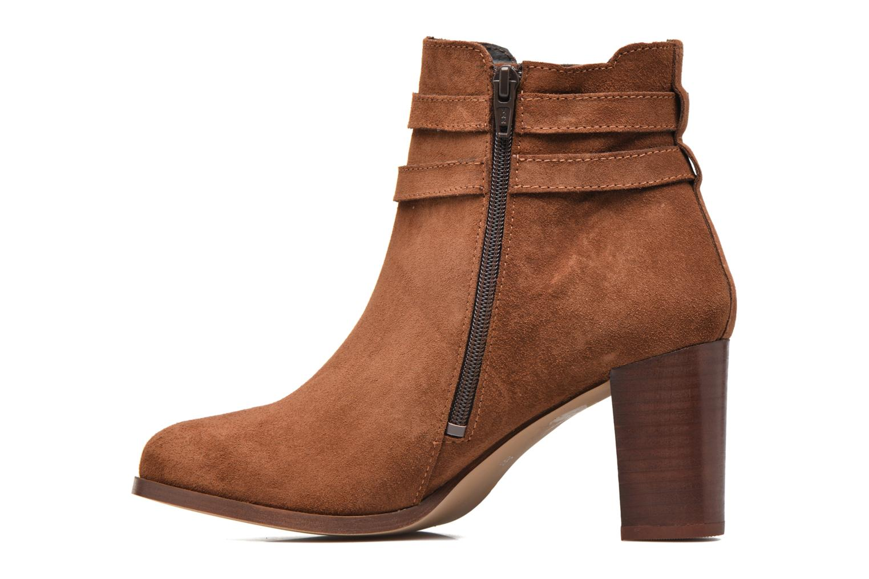 Bottines et boots Georgia Rose Cepari Marron vue face