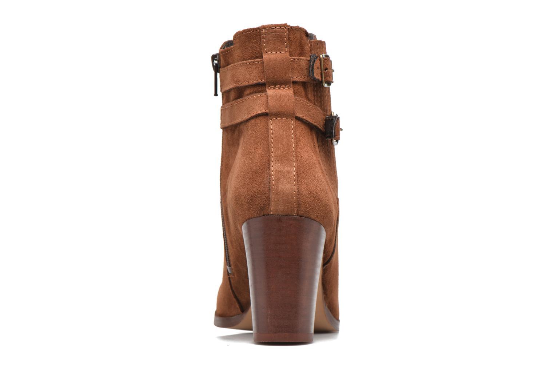 Bottines et boots Georgia Rose Cepari Marron vue droite
