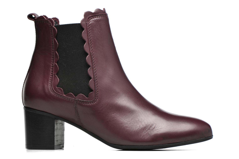 Bottines et boots Georgia Rose Cecroque Bordeaux vue derrière