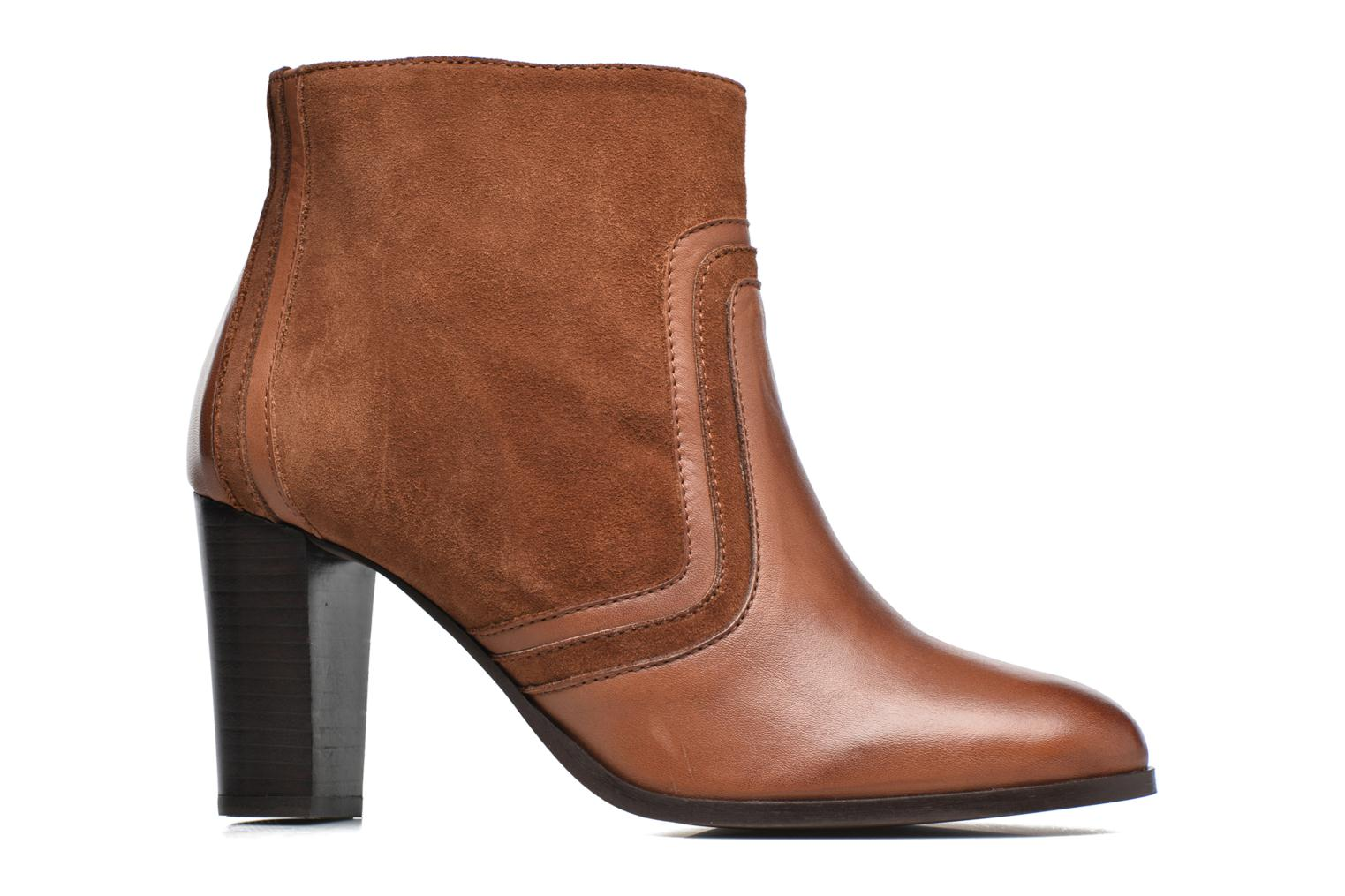 Ankle boots Georgia Rose Cepart Brown back view