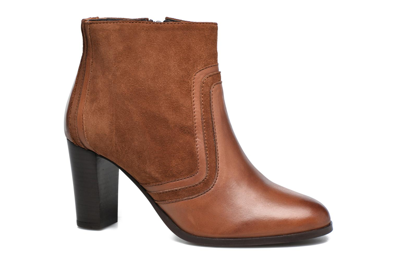 Ankle boots Georgia Rose Cepart Brown detailed view/ Pair view