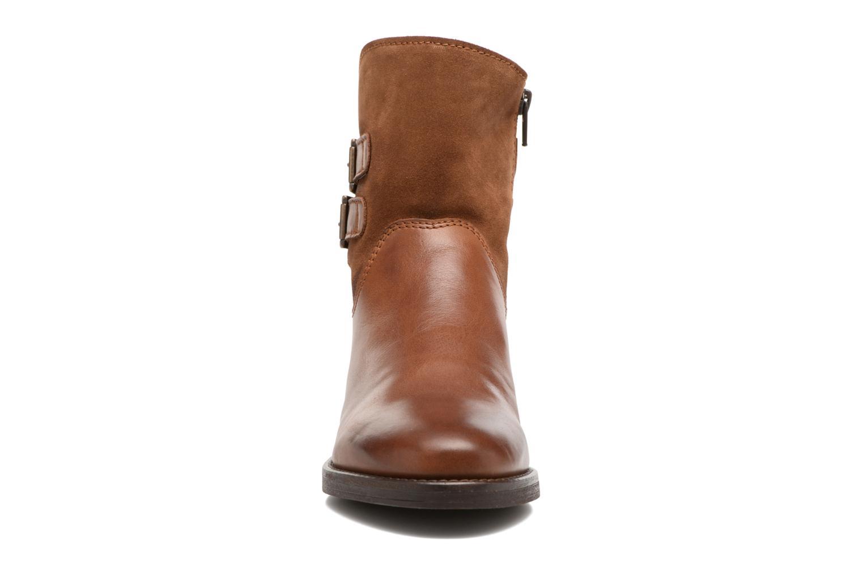 Bottines et boots Georgia Rose Cefoure Marron vue portées chaussures