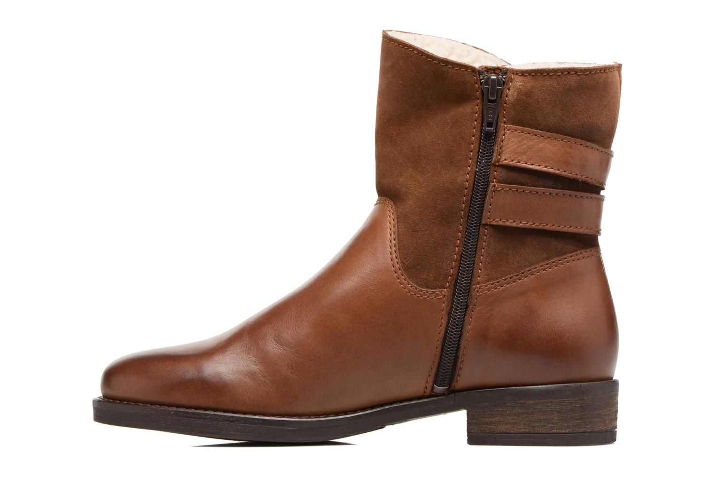 Bottines et boots Georgia Rose Cefoure Marron vue face