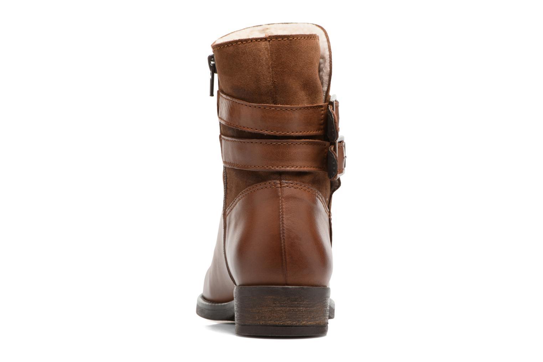 Bottines et boots Georgia Rose Cefoure Marron vue droite