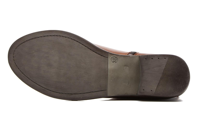 Bottines et boots Georgia Rose Cefoure Marron vue haut