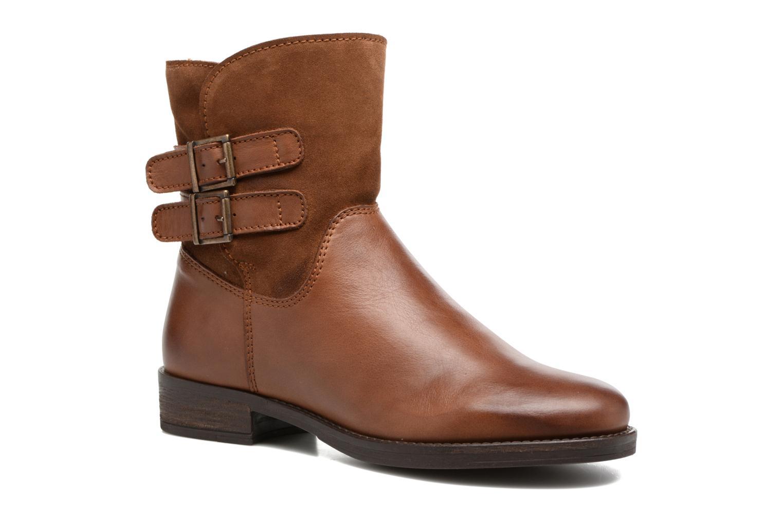 Bottines et boots Georgia Rose Cefoure Marron vue détail/paire