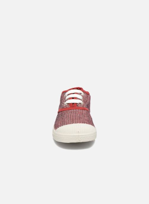 Sneakers Bensimon Tennis Fancy Linen E Rød se skoene på