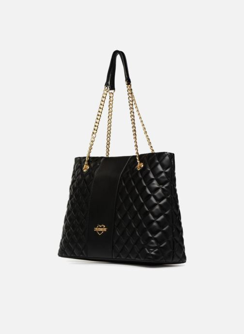 c1a5a5ce013 Love Moschino Cabas Super Quilted (Black) - Handbags chez Sarenza ...