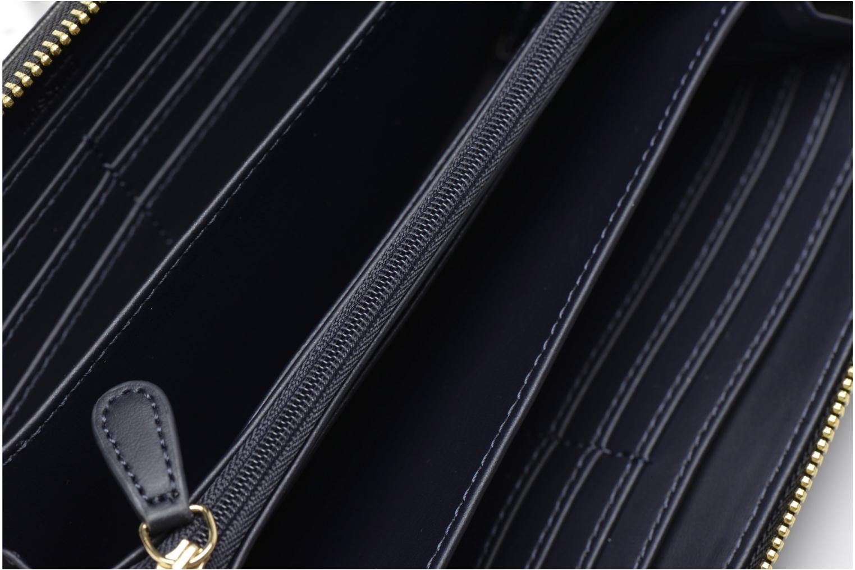 Petite Maroquinerie Love Moschino Portefeuille L Zip Around Quilted Noir vue derrière