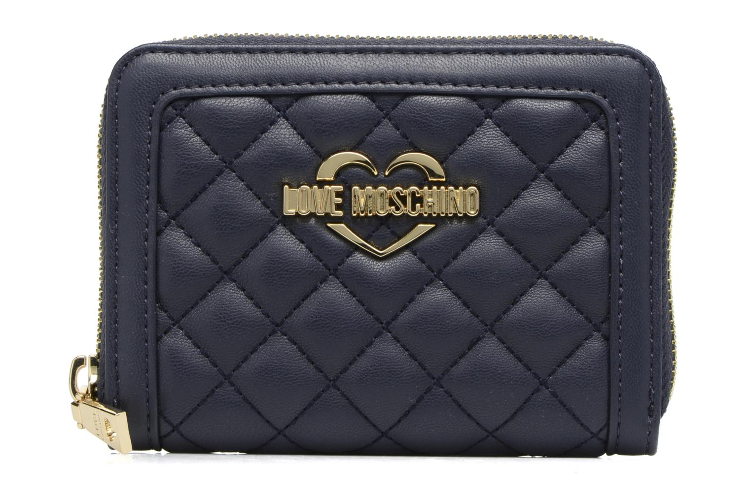 Zip Love Around 751NAVY M Quilted Portefeuille Moschino xAOpAt