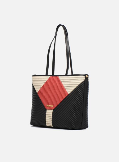 Moschino Patchwork Cabas 00afantaisy Color Quilted Love B0PYn0