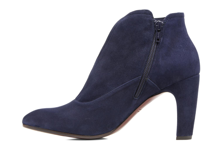 Bottines et boots Chie Mihara X-Fedora 31 Bleu vue face