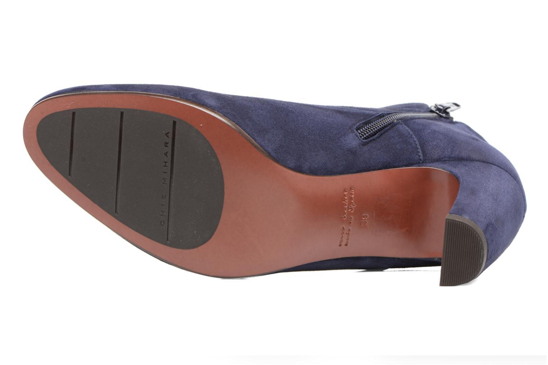 Bottines et boots Chie Mihara X-Fedora 31 Bleu vue haut