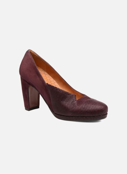 Pumps Chie Mihara Varda 31 Bordeaux detail